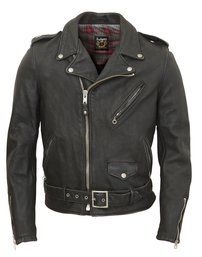 626VN - Vintaged Lightweight Cowhide Fitted Motorcycle Leather Jacket