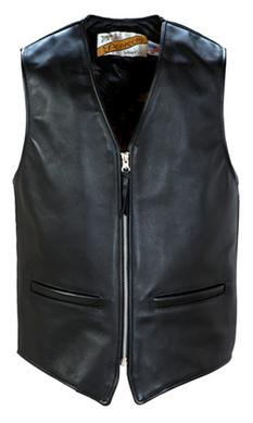 693V - Men's Genuine Steerhide Leather Vest