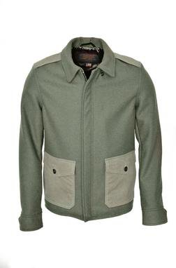 785 - 24 oz. Wool Military Jacket (olive)