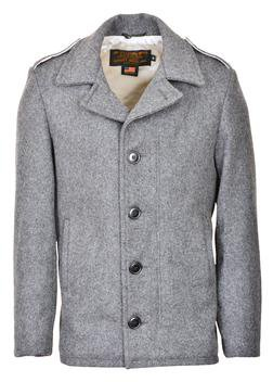 798 - M41 field coat in 24oz wool (Oxford Grey)