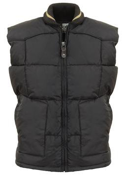 "9206DV - 27"" Quilted Western Down Vest (Black)"