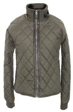 "9423W - 21"" Coated Nylon Diamond Quilted Fitted Jacket"