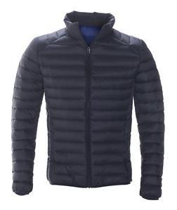 9510D - Nylon Ultra Light Down Filled Silverado Jacket Stand Collar (Black)