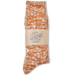 AIS2 - Slub crew sock (Brick)