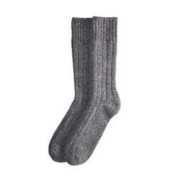 Charcoal Wool Socks