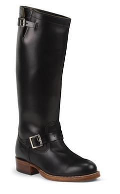 "4578 - Chippewa 17"" The Original Engineer Boot (Black)"