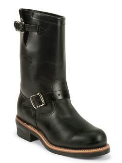 "M03BW - Chippewa Boots 11"" Steel Toe Engineer"