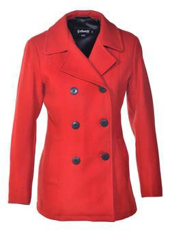 DU751W - Women's Lightweight Fitted Pea Coat