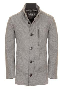 "DU739 - 31"" 24 oz Wool Blend Car Coat (Oxford Grey)"
