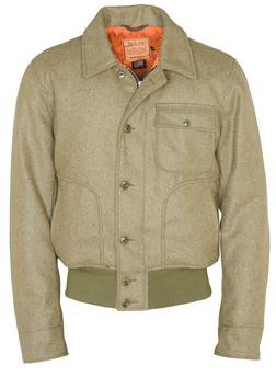 DU795 - Wool N-1 Flight Jacket (Olive)