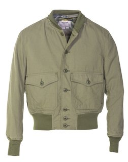 P8550 - Lightweight Cotton A-1 Bomber Flight Jacket