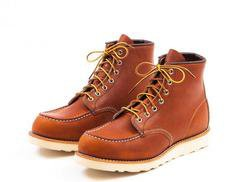 """R3375W - Red Wing Women's 6"""" Classic Moc Toe Boot"""