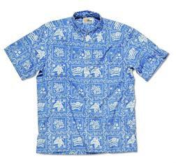 RS806 - Reyn Spooner Lahaina Shirt (Denim)