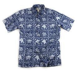 RS806 - Reyn Spooner Lahaina Shirt (Navy)