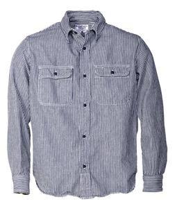 SH1501 - 100% Cotton Work Shirt (Railroad)