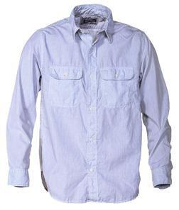 SH1501 - 100% Cotton Work Shirt (Stripe)
