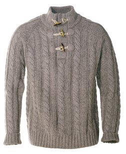 """SW1420 - 26"""" Toggle Pullover Sweater (Olive) (Olive)"""