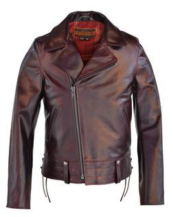 P6521 - Chips - California Highway Patrol Jacket in Horween Heavy Horsehide - Limited Sizes