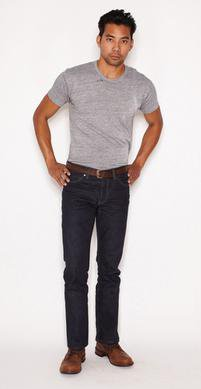 BART34 - Barton Rigid - Slim Straight Selvedge Denim