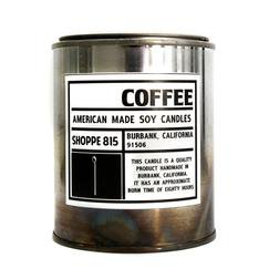 CNDL1 - Tin Candle-Candles (Coffee)