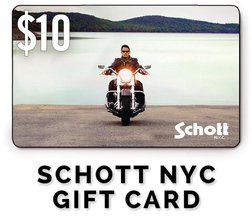 GC10 - $10 Schott NYC Gift Card