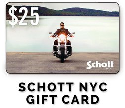GC25 - $25 Schott NYC Gift Card