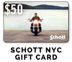 GC50 - $50 Schott NYC Gift Card
