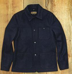 P721 - Wool Chore Jacket (Navy)
