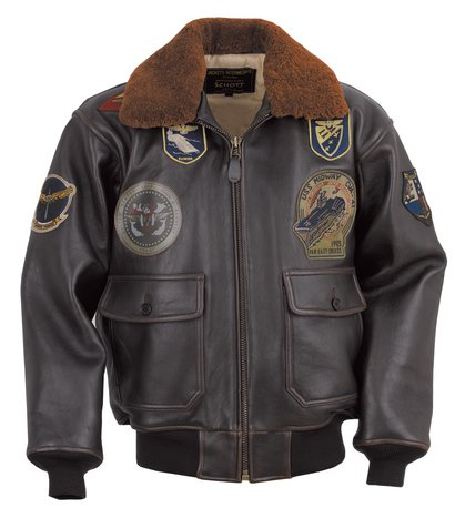 G1TG - G-1 Wings of Gold Leather Bomber Jacket